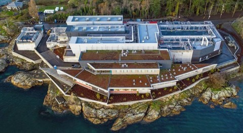 AECOM & Graham Construction complete wastewater treatment in Greater Victoria, British Columbia
