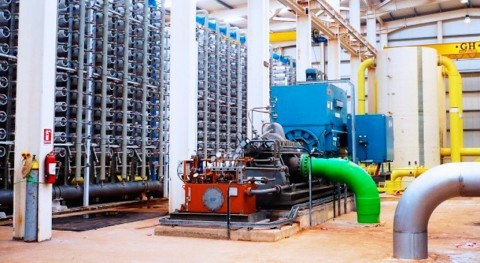 Algeria's Ténès desalination plant, built by Abengoa, produces 200 million m3 of drinking water
