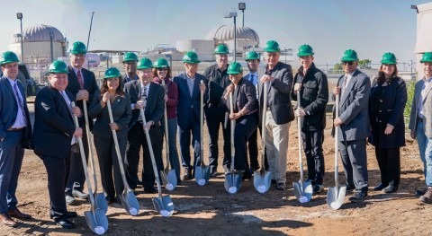 Construction begins on America's largest organic waste-to-energy facility
