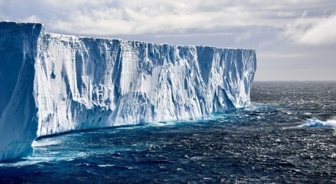Third of Antarctic ice shelf area at risk of collapse as planet warms
