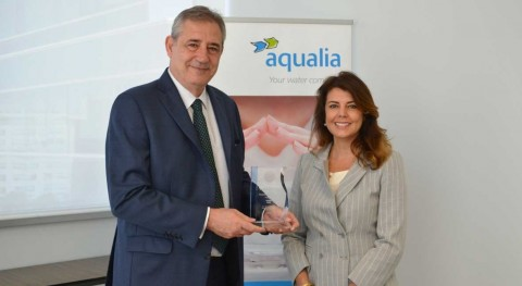 Aqualia is recognized by the IDA for its leadership in water reuse