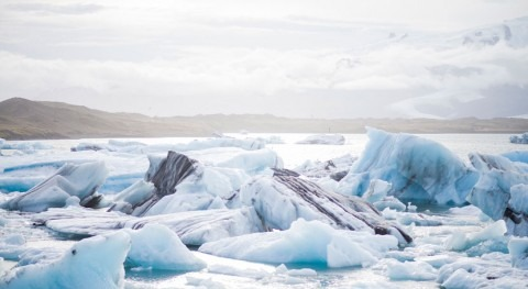 Cornell geologists detect rapid 'ice stream' at Arctic glacier