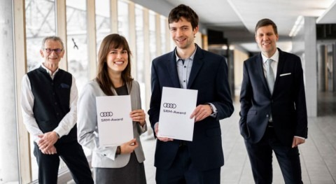 Audi Environmental Foundation presents awards to young resource management researchers