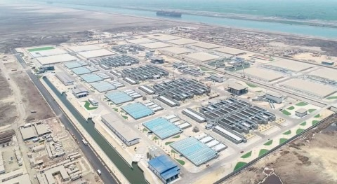 ACCIONA completes the construction of the Bahr-al Baqr WWTP in Egypt, the biggest in Africa