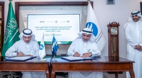 Bahri and Saline Water Conversion Corporation sign deal to establish floating desalination plants