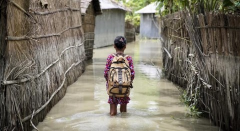 Climate change threatens one in three children in Bangladesh