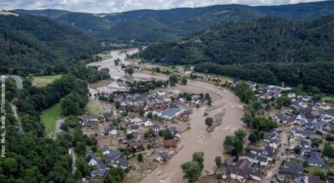 Flood waters churn up toxins from riverbeds