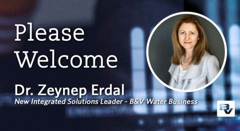 Dr. Zeynep Erdal named Integrated Solutions Leader in Black & Veatch's Water business