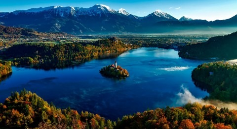 Lake Bled and the magic bell story