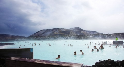 Blue Lagoon, one of Iceland's most enchanting spas