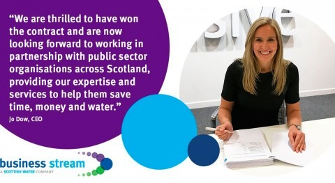 Business Stream wins back £200m public water contract in Scotland