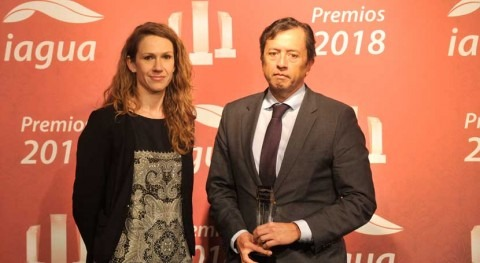 CAF: best international agency in 2018 iAgua Awards