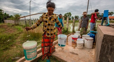 ADB to help Cambodia expand access to water supply, sanitation services