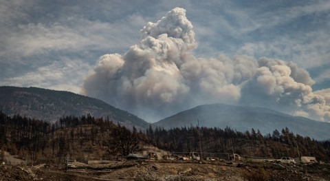 Wildfire and flood disasters are causing 'climate migration' withinCanada