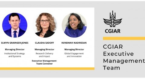 CGIAR appoints its inaugural CGIAR Executive Management Team