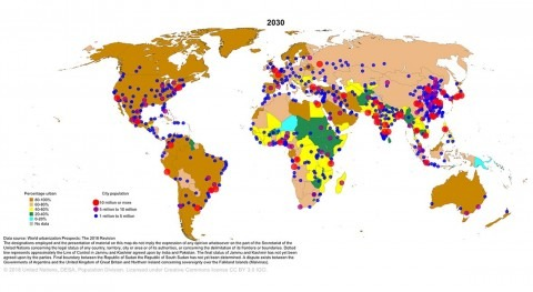 Water security in large cities