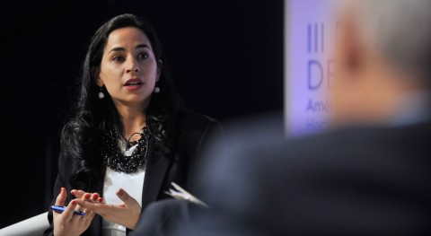 """Claudia Crosa: """"In Paraguay there are important gaps in universal access to water services"""""""