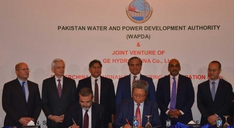 Contract signed for electro-mechanical works of Dasu Hydropower Project, Pakistan