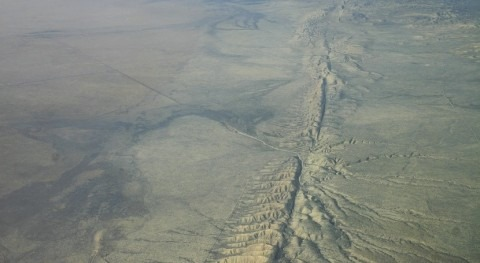 Model reveals interactions between rivers and fault lines
