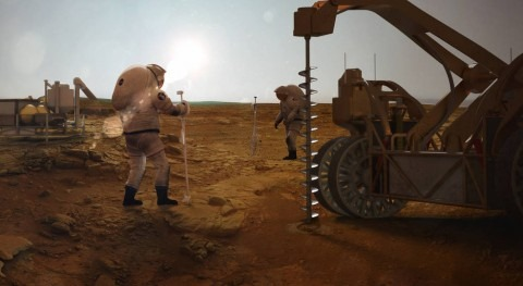 Drilling on Mars for groundwater exploration: challenges and opportunities