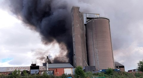 Recycled Waste Water Used to Tackle Fife Fire