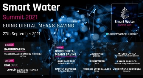2021 Smart Water Summit: in the water sector, going digital means saving