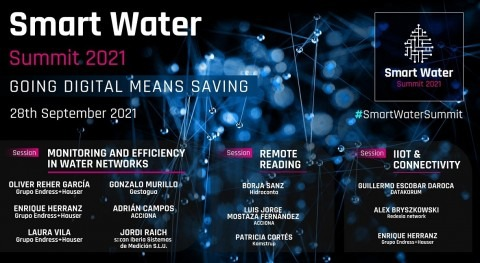 2021 Smart Water Summit: monitoring and efficiency in water networks