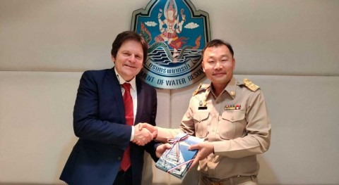 Department of Water Resources of Thailand and IHE Delft intensify their collaboration
