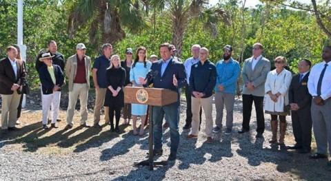 DeSantis recommends $360 million for Everglades restoration in Florida