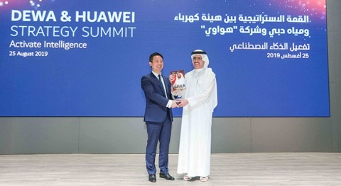 Dewa and Huawei launch AI lab