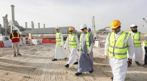 DEWA reviews progress on SWRO-based desalination plant in Jebel Ali