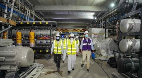 DEWA's SWRO water desalination plant in Jebel Ali is 92% complete