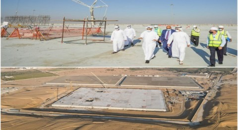 DEWA completes 72% of Lusaily water reservoir to increase water storage capacity in Dubai