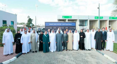 HH Sheikh Ahmed bin Saeed Al Maktoum inaugurates DEWA's Smart Grid Station in Al Ruwayyah