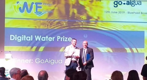 GoAigua wins the 2019 Digital Water Prize from Water Europe