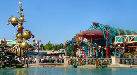 Theme parks in Europe: when water is an attraction