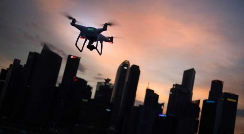 Researchers use drones to better predict urban flooding