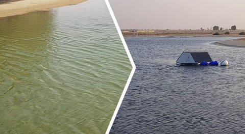 LG Sonic solves algal problems in Dubai irrigation reservoir