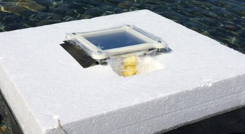 Solar energy used to turn seawater into freshwater