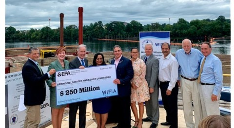 EPA Announces $250 m WIFIA loan to upgrade aging infrastructure, advance renewable energy in Mass.