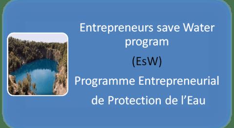 Entrepreneurs save Water