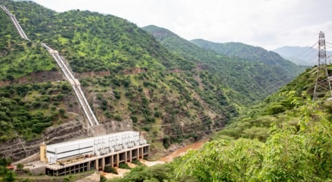 Voith equips the Ethiopian hydropower plant Gilgel Gibe II with intelligent solutions