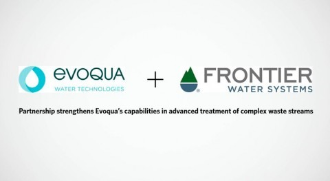 Evoqua acquires majority stake in Frontier Water