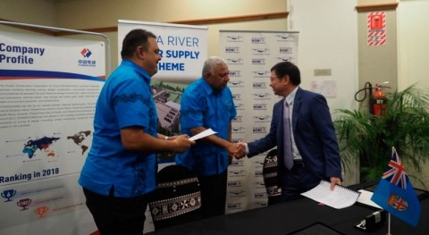 ADB and Fiji sign contract to deliver continuous water supply to most in Suva