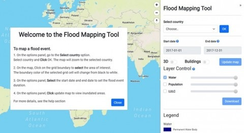 New tool maps floods since 1985, will aid disaster planning, especially in Global South