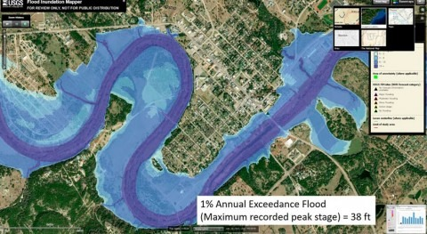 New tools for flood preparedness available for Medina River near Bandera, Texas