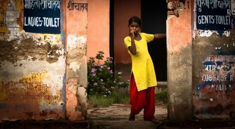 Not school, not home, not woman without proper sanitation
