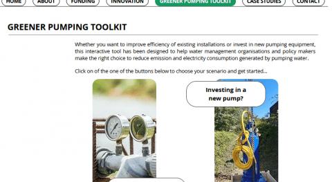 Greener Pumping Toolkit