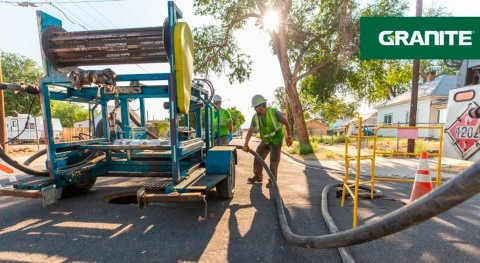 Granite Inliner includes $30m in newly awarded trenchless water and wastewater system projects