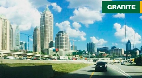 Granite is awarded $21 million joint venture sewer rehabilitation project in Atlanta
